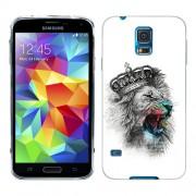 Husa Samsung Galaxy S5 Mini G800F Silicon Gel Tpu Model The King