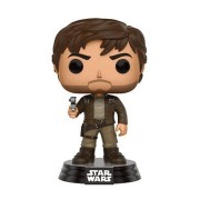 Star Wars Rogue One POP! Vinyl Bobble-Head Figure Captain Cassian Brown Jacket 10 cm