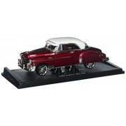 Motormax 79007 1950 Chevrolet Bel Air Metallic Dark Red Custom 1-18 Diecast Car Model