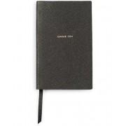 "Smythson Panama Notebook ""Game On"" Black"