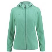 Kaikkialla Tiia Fleece - giacca in pile con cappuccio - donna - Green