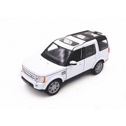 Welly 1 24 Land Rover Discovery 4 Diecast Model Car White New in Box