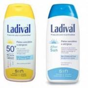 Ladival Duplo Ladival Adulto Corporal Fotoprotector Fps 50+ Piel Sensible o Alérgica 200 ml - After Sun 200 ml