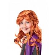 Vegaoo.es Peluca de Anna Frozen 2 niña