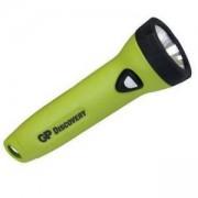 Фенер GP HOME blister, 2 АА батерии, Зелен, GP-F-GPL071-2AA-ZN