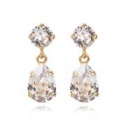 Caroline Svedbom Mini Drop örhängen crystal