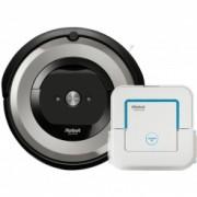 iRobot Roomba e5 silver + Braava jet 240