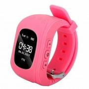 Ceas inteligent Bass Q50 pentru copii roz-pentru siguranta copiilor