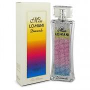 Miss Lomani Diamonds Eau De Parfum Spray By Lomani 3.3 oz Eau De Parfum Spray