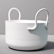 SMD Design-Tivoli Kruka H17cm Ø27cm, Vit