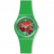Reloj de pulsera Swatch GG220-Verde