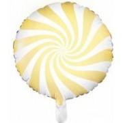 Balon Folie Acadea 45 cm galben