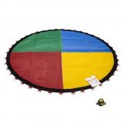Lona de Salto Para Cama Elástica de 2M com 42 Ganchos Canguri Quadricolor