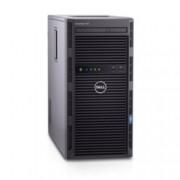 Сървър Dell PowerEdge T130 (#DELL02372), четириядрен Kaby Lake Intel Xeon E3-1220 v6 3.0/3.5GHz, 8GB DDR4 UDIMM, 2x 1TB HDD, 2x GbE LOM, без ОС, 290W