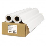 """Universal Adhesive Vinyl, 150 G/m2, 36"""" X 66 Ft, White, 2 Rolls/pack"""