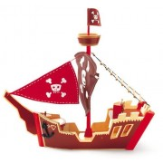 Djeco Arty Toys- Ze Pirate Boat