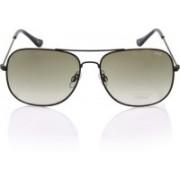 IDEE Rectangular Sunglasses(Green)