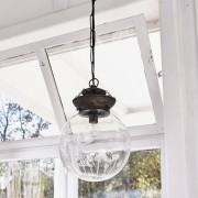 LOBERON Hanglamp Sumersdale / antiekzilverkleurig/helder