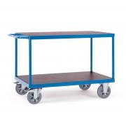 Fetra Super-MultiVario-Transporter Tischwagen mit 2 Etagen 1200x800 mm