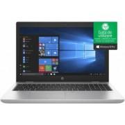 Laptop HP ProBook 650 G4 Intel Core Kaby Lake R (8th Gen) i5-8250U 256GB SSD 8GB Win10 Pro FullHD FPR Active SmartCard Port Serial Silver