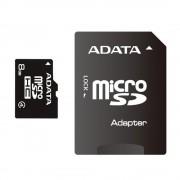 Adata 8GB MicroSDHC memóriakártya+SD adapter Class4