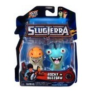 Slugterra Toys, Games & Dart Mini Action Figures Slugterra Mini Figure 2-Pack Rocky & Buzzsaw [Includes Code For Exclusive Game Items]