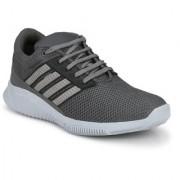 Shoe Rider Men's Grey Mesh Sports Running Shoes