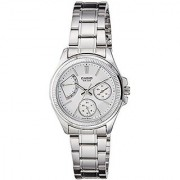 Casio Enticer Analog White Dial Womens Watch - LTP-2089D-7AVDF (A1037)