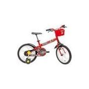 Bicicleta Infantil Caloi Minnie Aro 16 - Vermelho