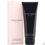 Narciso Rodriguez for her - scented hand cream 75 ml Campione Originale
