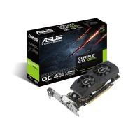 Asus GTX1050TI-O4G-LP-BRK Scheda Video Nvidia OC Edition 4Gb di Ram Gddr5 Hdmi Dvi Display Port