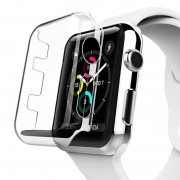 Voor Apple Watch serie 2 42 mm transparant PC beschermhoes