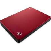 Портативен външен диск Seagate Backup Plus Slim 1 TB, Red