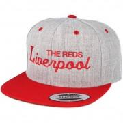 Forza Keps Liverpool Grey/Red Snapback - Forza