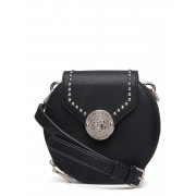GUESS Belle Isle Round Case Bags Small Shoulder Bags - Crossbody Bags Svart GUESS