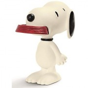 Schleich Peanuts Snoopy with His Supper Dish Figure