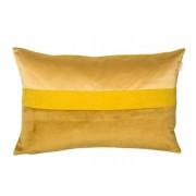 Esprit Kissenbezug Cord 38 x 58 cm Gold Polyester