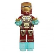 Lego Mark 42 Armor Minifigure 76007 Iron Man Malibu Mansion Attack