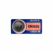 5 Blisters Con 1 Pila C/u SONY Litio CR2025 3v
