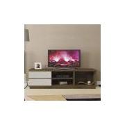 Rack Magestic para TV's até 60 com 2 gavetas Mavaular - Canion/Off White Mavaular Móveis