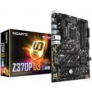 Gigabyte Z370P D3, Intel Z370, VGA by CPU, 3xPCI-Ex16, 4xDDR4, M.2, HDMI/USB3.1 Gen 1, ATX (Socket 1151)