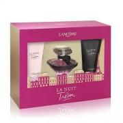 Lancome Tresor La Nuit 30Ml Apă De Parfum + 50Ml Loțiune de corp + 50Ml Gel de duș Set