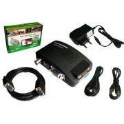 Konwerter AV/BNC/S-Video do VGA