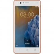 Telefon Mobil Nokia 3, 16GB Flash, 2GB RAM, Dual SIM, 4G, Copper White