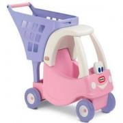 Детска кола за пазаруване - Розова - Little Tikes, 320144