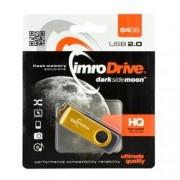 Stick USB 2.0 64 GB Imro Axis Gold
