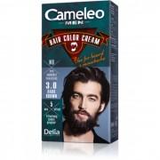 Krema za bojenje kose, brade i brkova CAMELEO MEN tamno smeđa 3.0