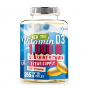 FORZA Vitamina D3 - 365 Capsule Softgel