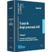 Tratat de drept procesual civil vol.1 Principii si institutii generale - Ioan Les