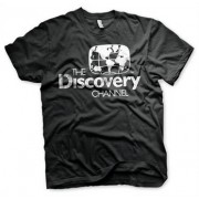 Discovery Channel Distressed Logo T-Shirt